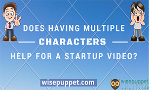 Does having multiple Characters help for a startup video?